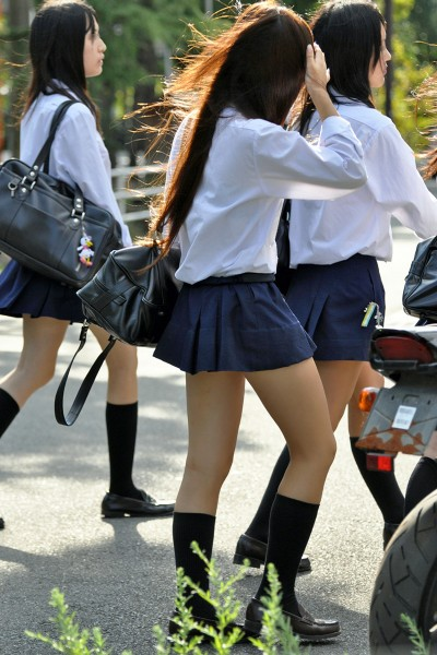 【画像】高校の近くに住めば女子高生見放題なんだよ