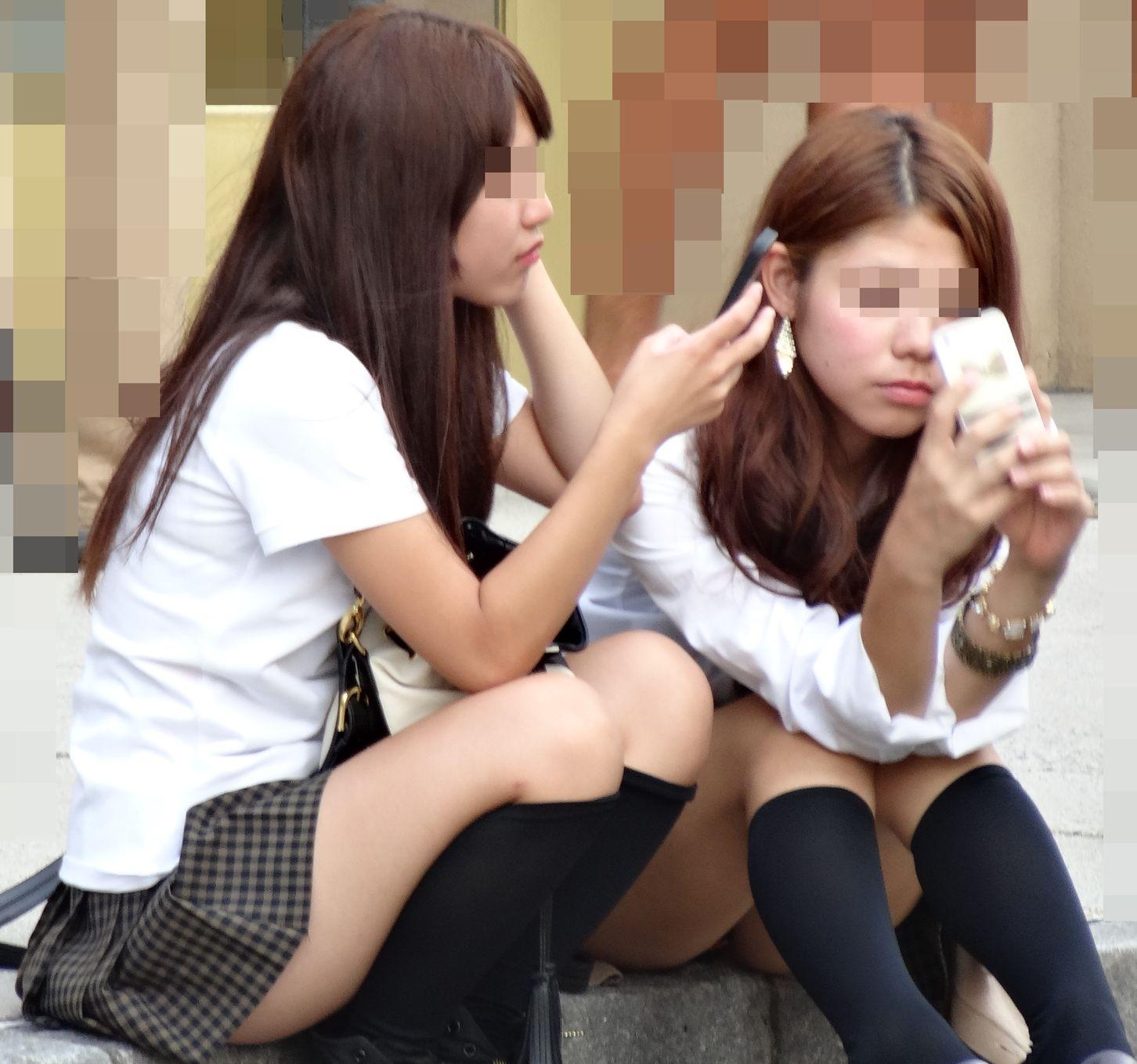 【画像】女子高生のパンツの魔力ってすごいよなwww