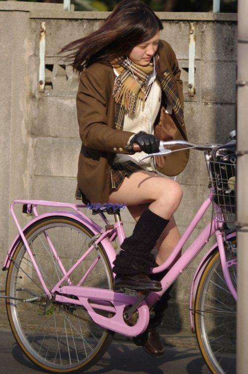 【画像】女子高生の自転車のサドルがうらやましい