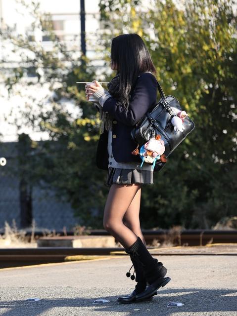 【画像】綺麗な街撮り女子高生画像集