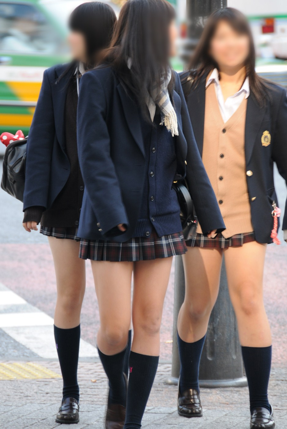 【画像】女子高生の街撮り画像集