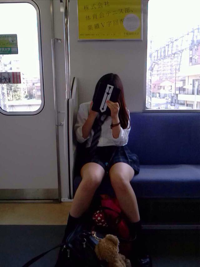 【画像】電車内JKってなんでこんな興奮するんだろうな