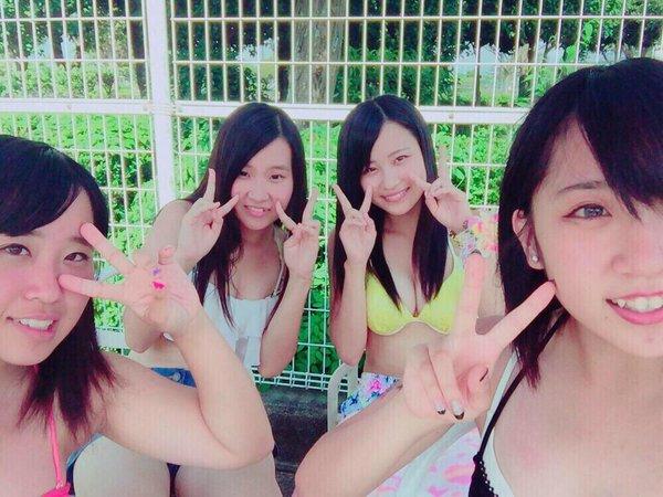 【画像】女子高生の水着が簡単に拝める時代にありがとうwwww