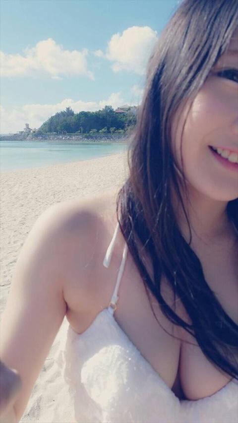 【画像】夏がきたああああ!素人水着おっぱい!wwww