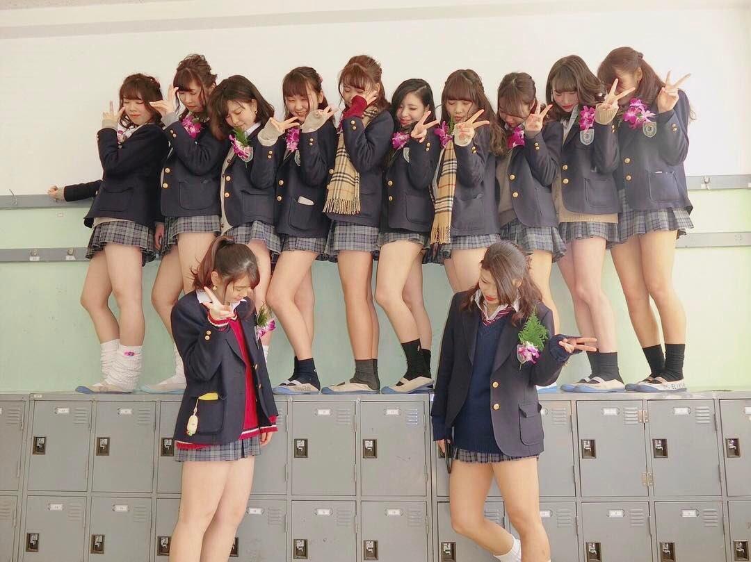 【画像】女子高生の集合写真コレクション奴wwww