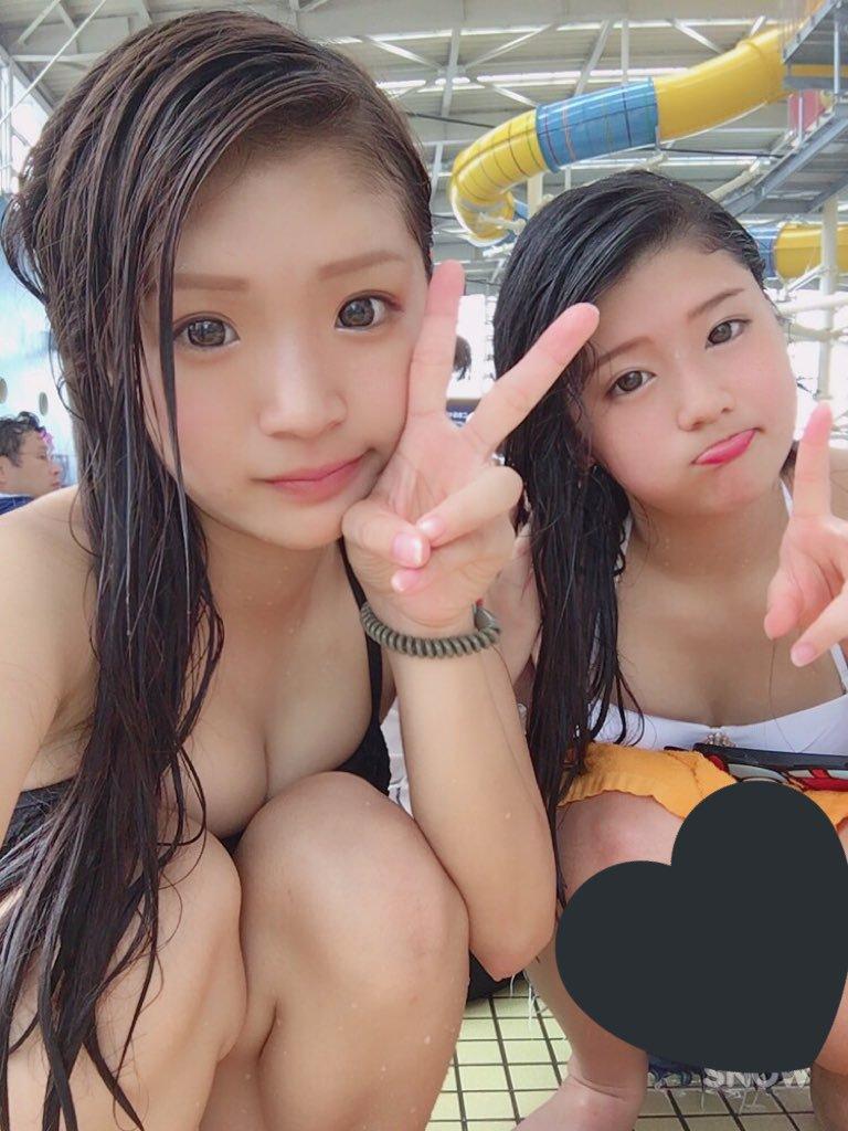 【画像】2017年夏見納め、JK水着画像集
