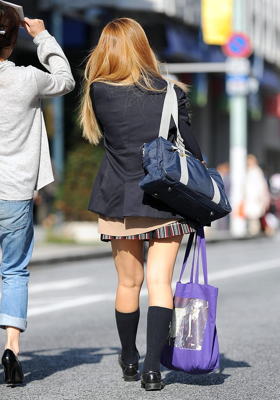 【画像】女子高生、街撮り画像