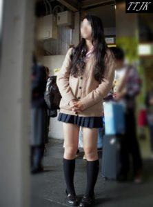 【画像】女子高生の街撮り写真集