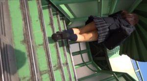 【動画】JK スカートめくり3
