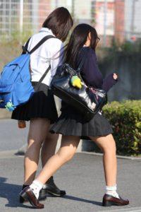 【画像】魅力あふれる女子高生街撮り画像
