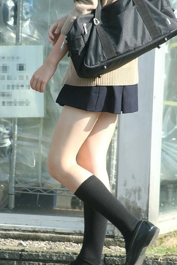 【画像】女子高生のふともも大好き奴集合~www
