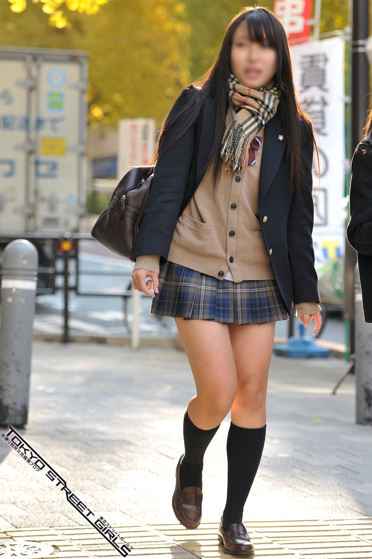 【画像】女子高生街撮り写真