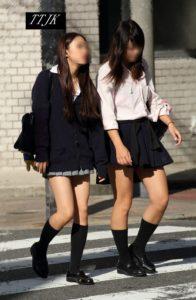 【画像】見るだけにしよう、女子高生街撮り写真