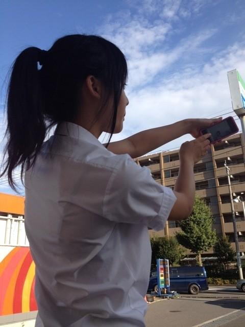 【画像】女子高生さんの街撮りセレクション