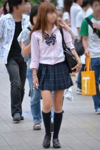 【画像】春休みで見られない女子高生街撮り画像
