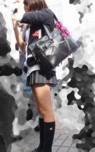 【画像】女子高生街撮り特集