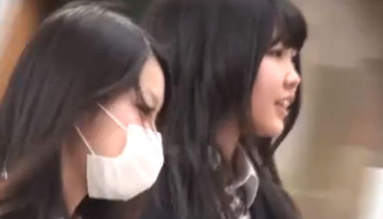 【動画】25秒に凝縮されたJKの逆さ盗撮