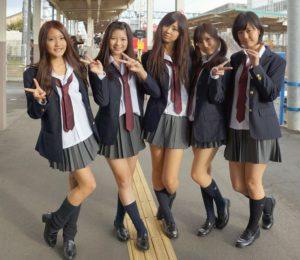 【画像】一緒に混ざりたい女子高生の集合写真