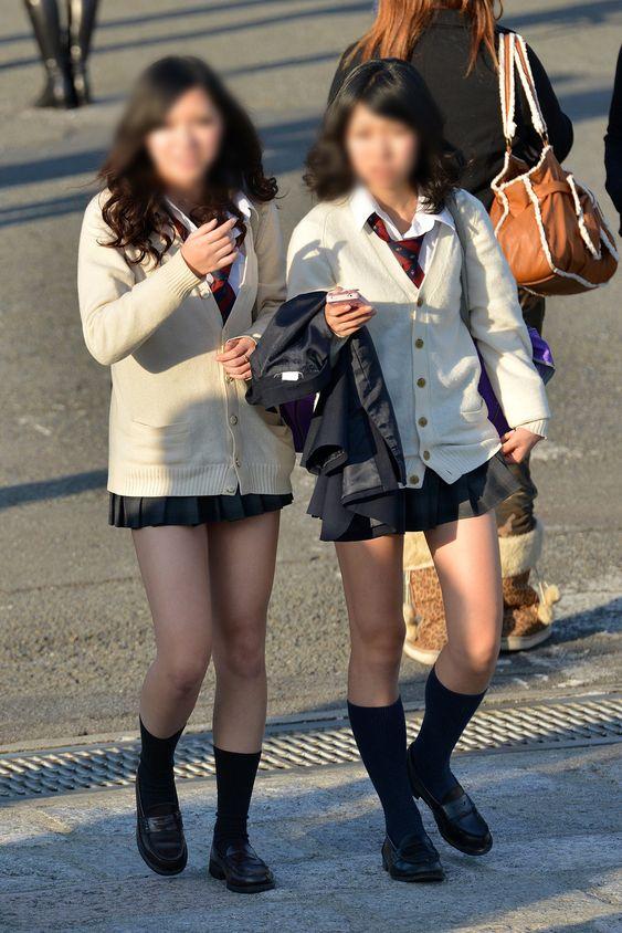 【画像】女子高生待撮り(秋ver)