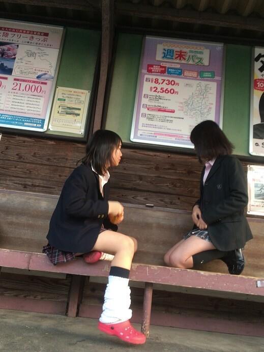 【画像】女子高生待撮り写真