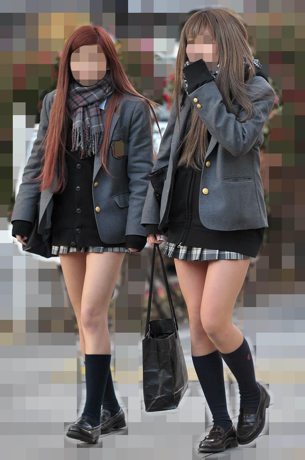 【画像】女子高生のふともも!キンキンに冷えてやがるぅう