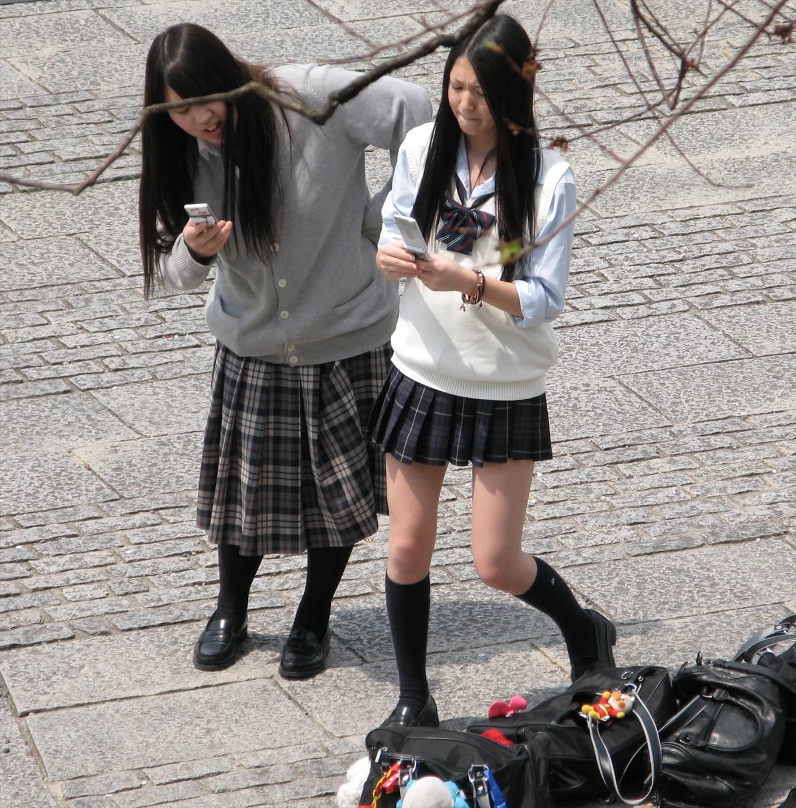 【画像】女子高生待撮り写真でデトックス