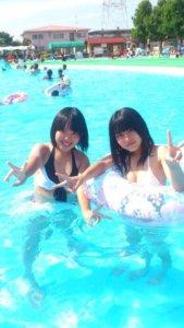 【画像】女子高生のエロエロ水着写真集