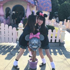 【画像】女子高生とディズニーデートしたい・・・