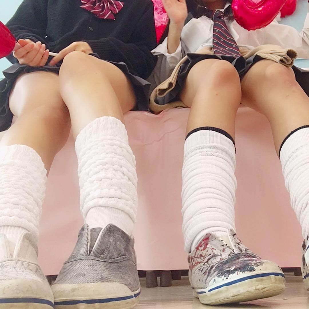 【画像】女子高生のルーズふとももにナニを踏み踏みしてほしい・・・