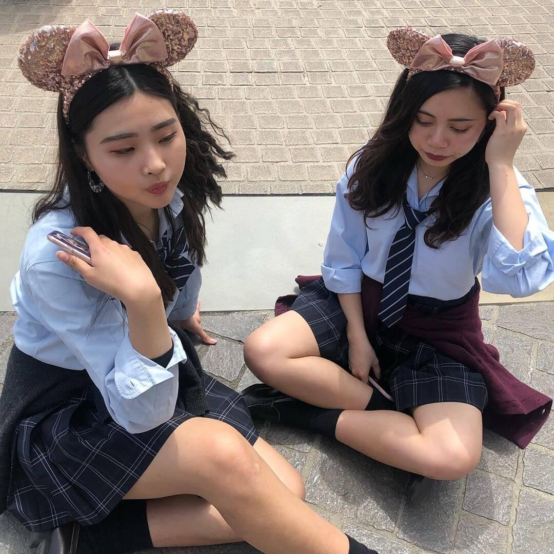 【画像】ディズニー女子高生が一番のエレクトリカルパレードwww