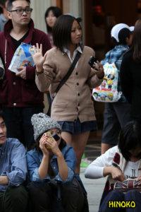【画像】もふもふニット女子高生の季節になりました。