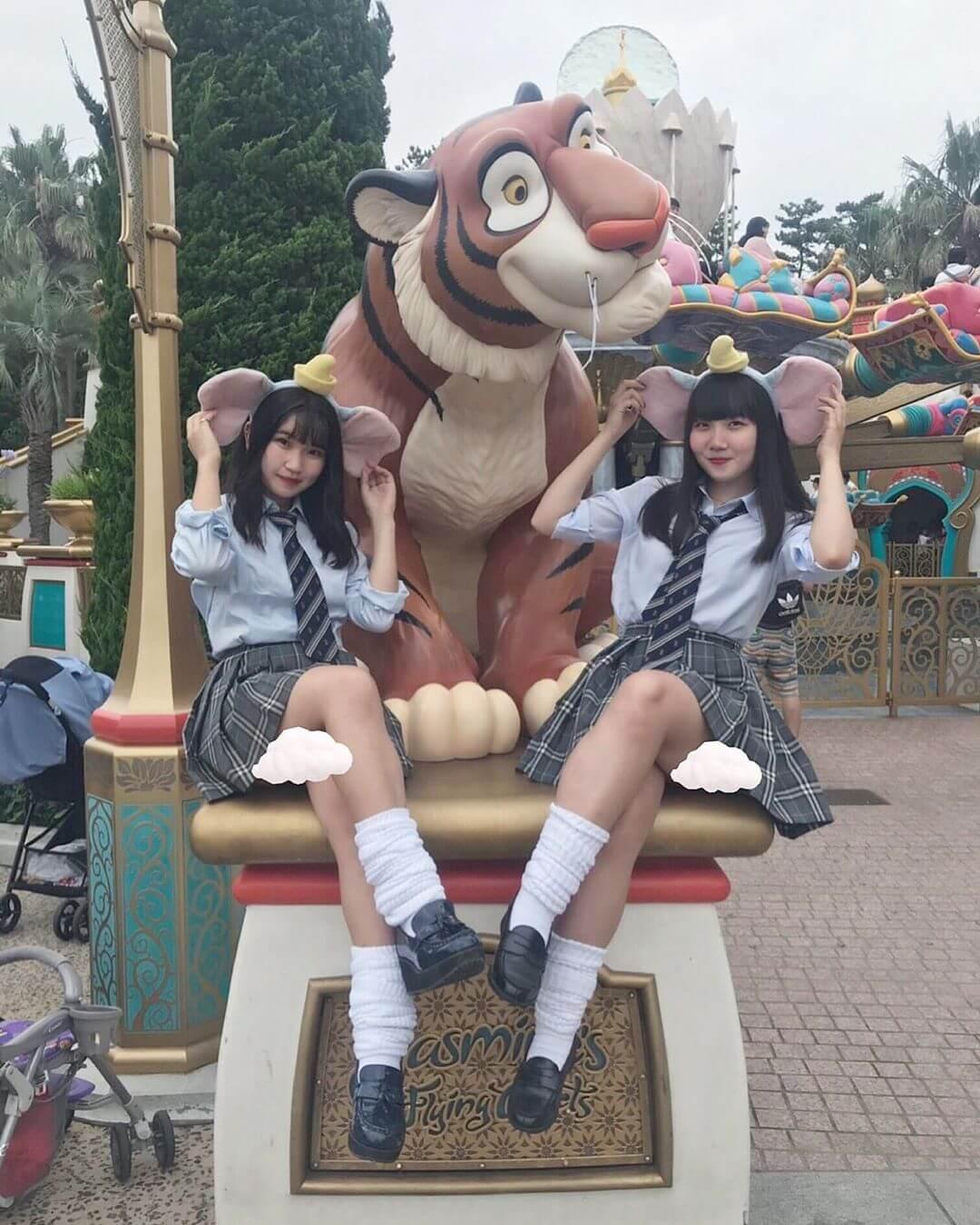 【画像】女子高生のスケベが拝めるTDLスポット