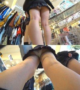 【画像】女子高生のくせにエロいパンティー履いてけしからん!!