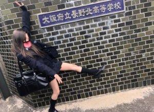【画像】長北JKというパンチラしまくりな高校が大阪にはあるらしい