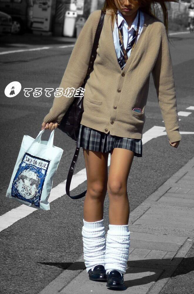 【画像】女子高生のムレムレルーズソックスでシコシコしたいよな?