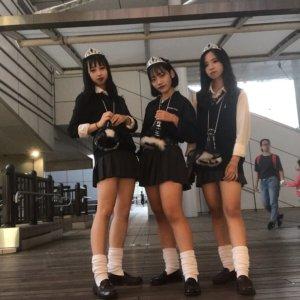 【画像】学校行事で青春する女子高生写真