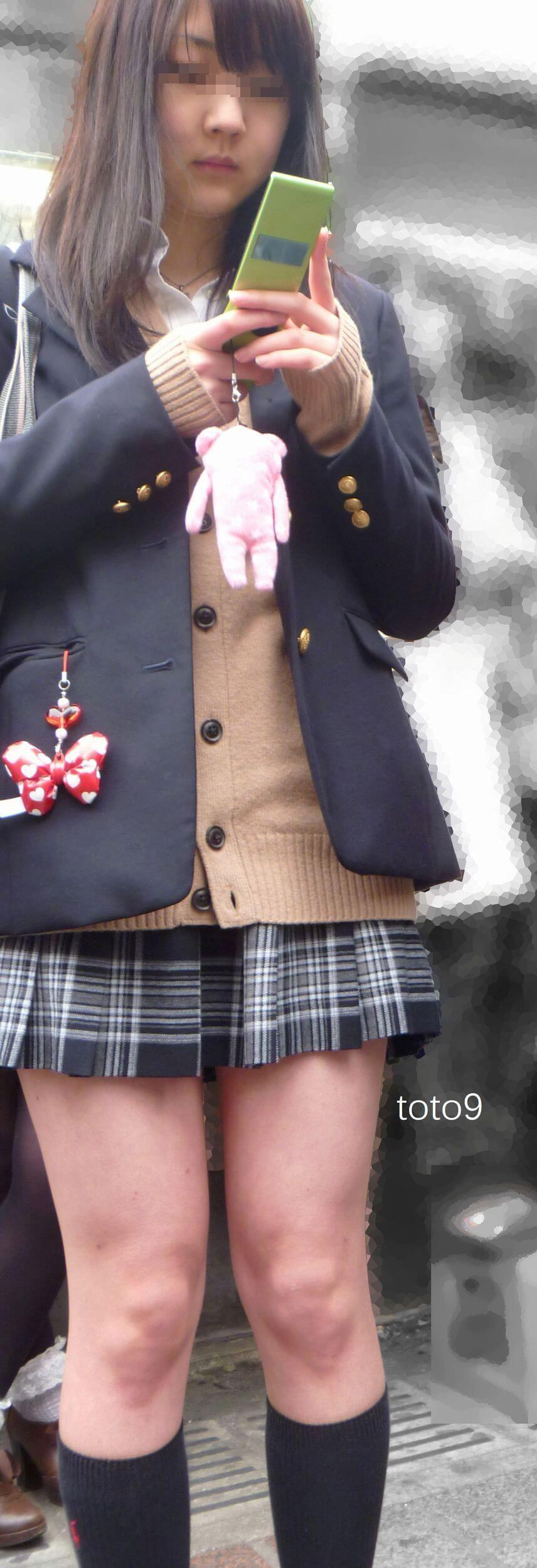 【画像】コロナと春休み・・・待撮り女子高生の写真をどうぞ