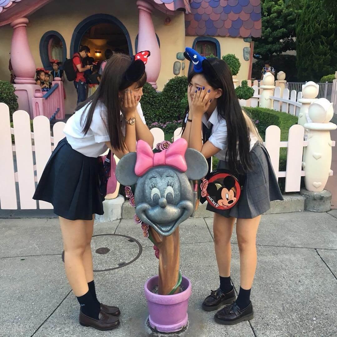 【画像】ディズニー女子高生に反応してエリクトリカルおちんぽに