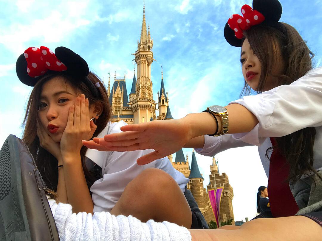 【画像】女子高生とディズニーデートしてないやつおる?www