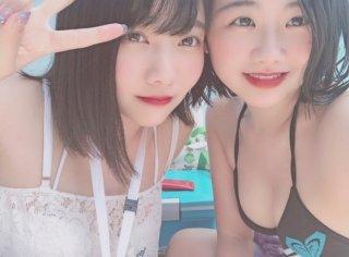 【画像】女子高生のくせにドスケベな水着写真