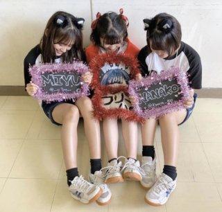 【画像】学校のイベントではしゃぐ女子高生がカワイイ!