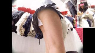 【画像】JKのお尻が画面いっぱいの逆さ撮り接写写真