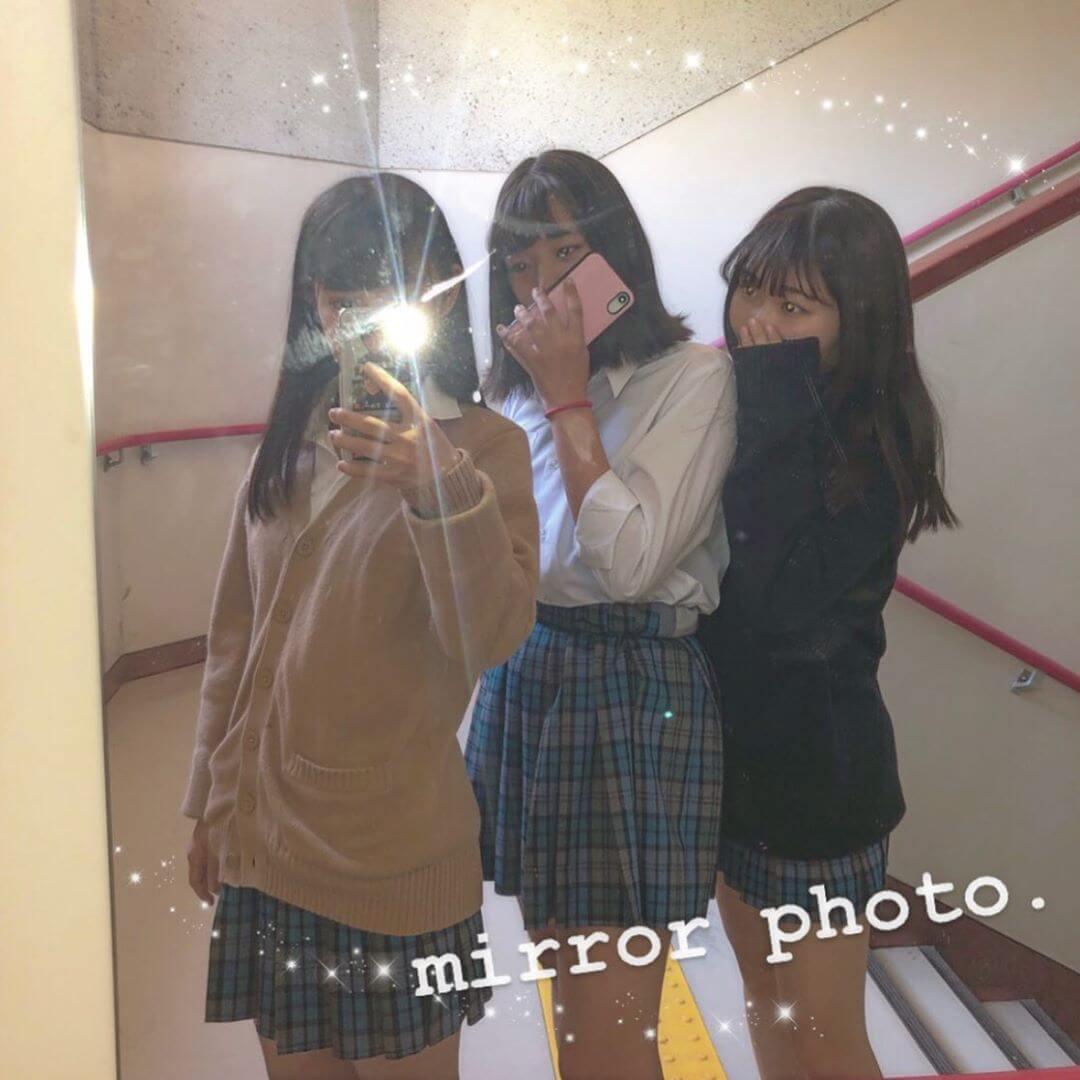 【画像】新栄JKはSNSで如何に可愛い写真を上げられるかの争いがすごいんだって