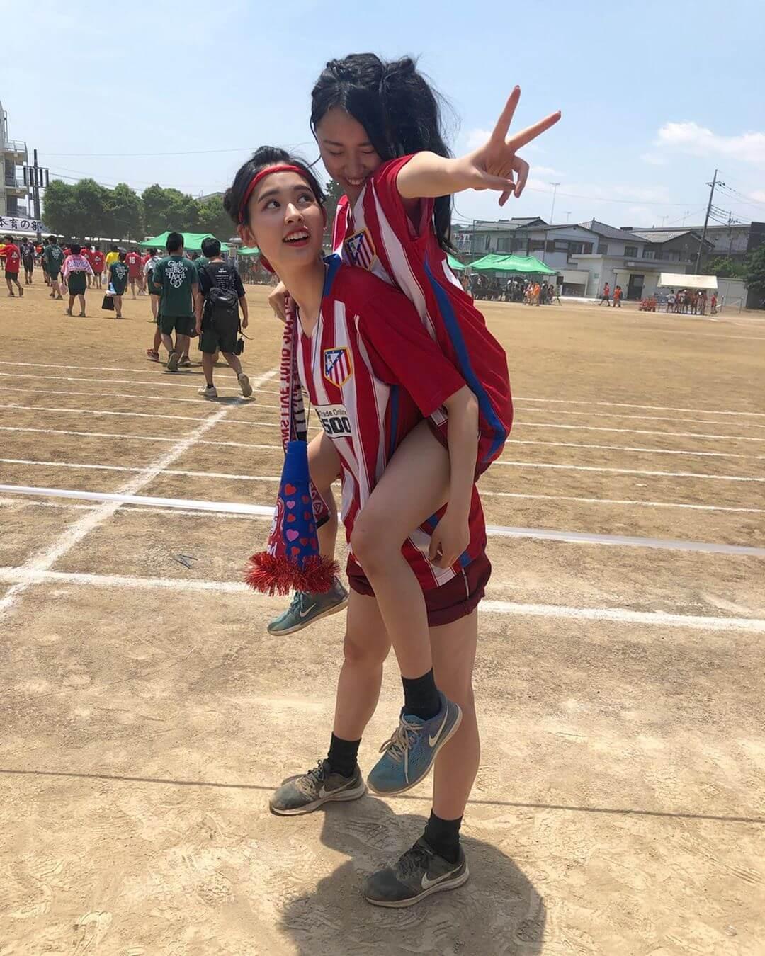 【画像】体育祭で元気いっぱいなJKちゃん達の写真をどうぞ