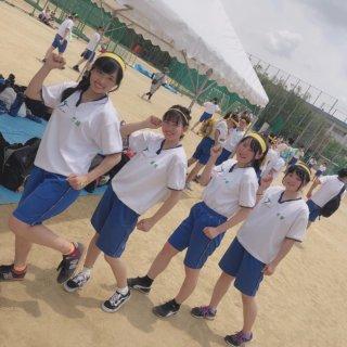 【画像】体育祭で元気いっぱいな女子高生にニッコリやで