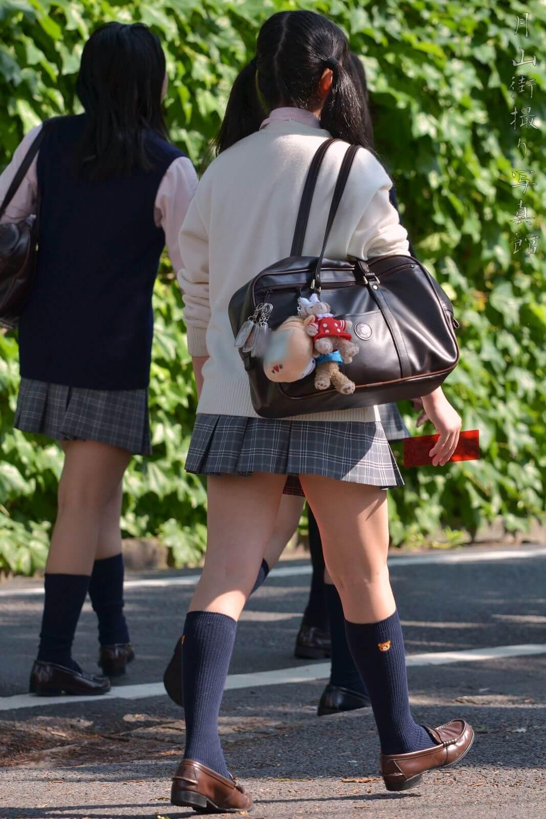 【画像】シンプルな女子高生街撮り写真をどうぞ
